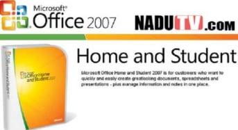 Office 2007 Student siêu nhẹ cho máy cấu hình yếu