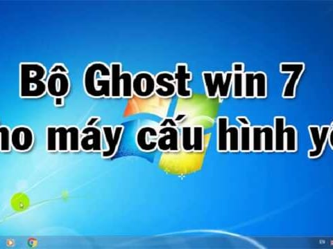 Ghost win 7 lite
