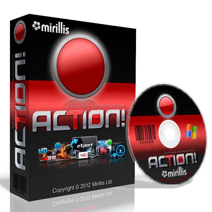 Mirillis Action 3.9.3 FULL – Phần mềm quay màn hình máy tính