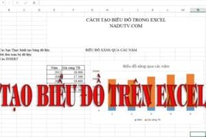 Hướng dẫn tạo biểu đồ chi tiết trong Excel