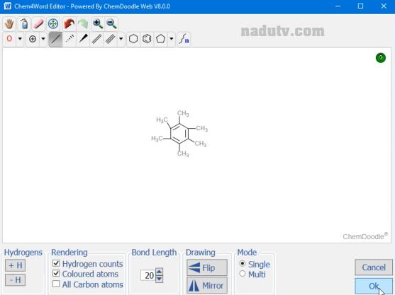 Viết công thức hóa học