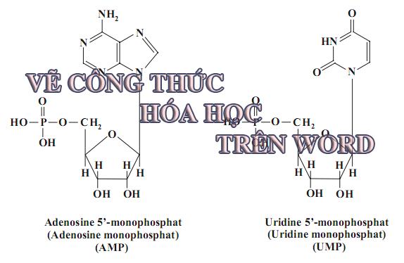 Viết công thức hóa học trong Word với Chem4Word