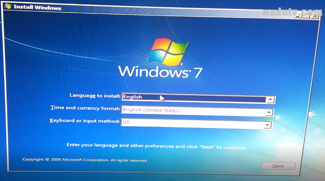 cách tạo boot boot Windows 7+10