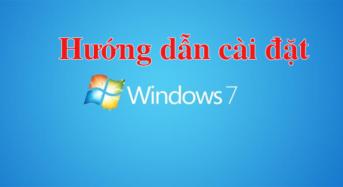 Hướng dẫn cài đặt windows 7 cho máy tính bằng USB boot