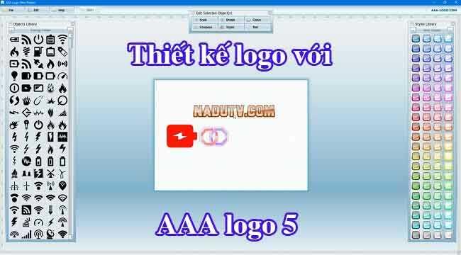 Thiết kế Logo AAALogo 5 mang thương hiệu cá nhân