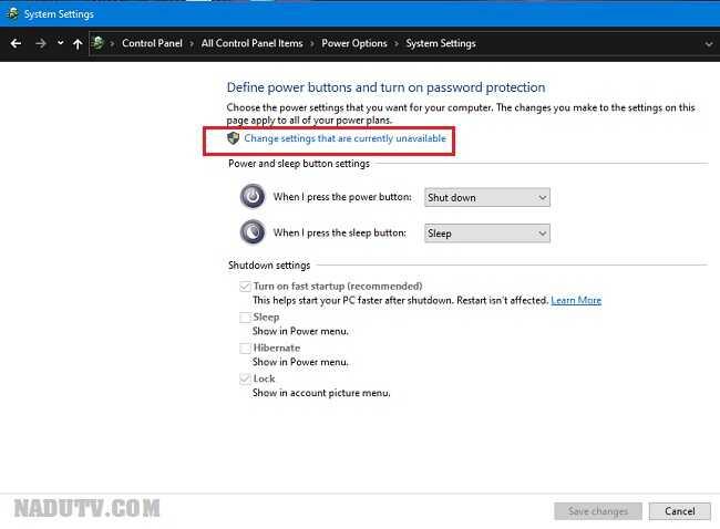 Khôi phục Sleep trên Windows 10/8/7