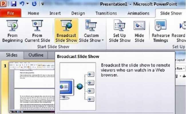 Tài liệu tự học PowerPoint 2010