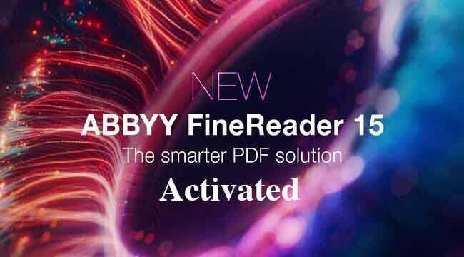 ABBYY FineReader V15 2020 Activated-Chuyển PDF sang Word