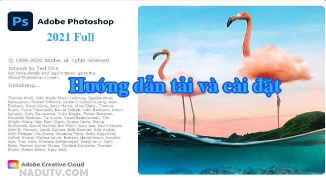 Adobe Photoshop 2021 full Activate-Hướng dẫn tải và cài đặt