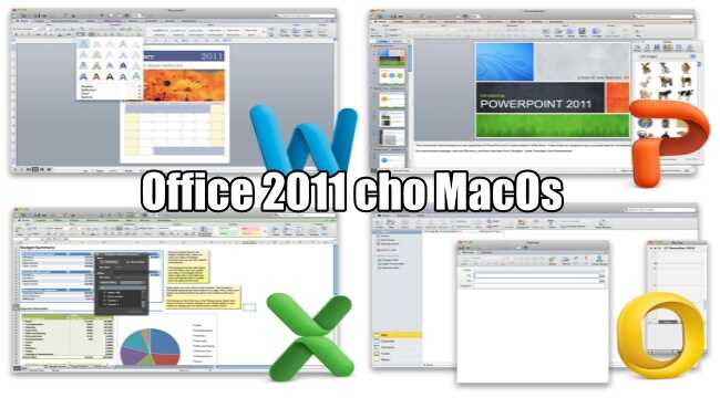 Microsoft Office 2011 cho MacOS Full Activate