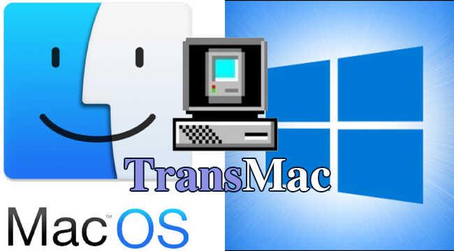 Tạo USB boot MacOS bằng Transmac chi tiết
