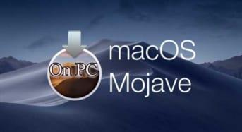 Cài đặt MacOS Mojave trên PC/Laptop chi tiết