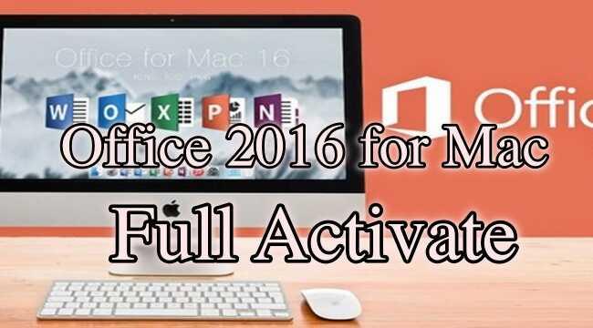 Office 2016 Full Activate cho MacOs [GoogleDriver]