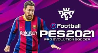 PES 2021 Full key Game bóng đá của Konami link Google