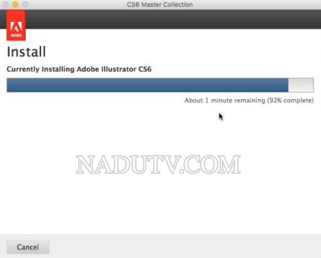 Master collection Adobe CS6 Mac