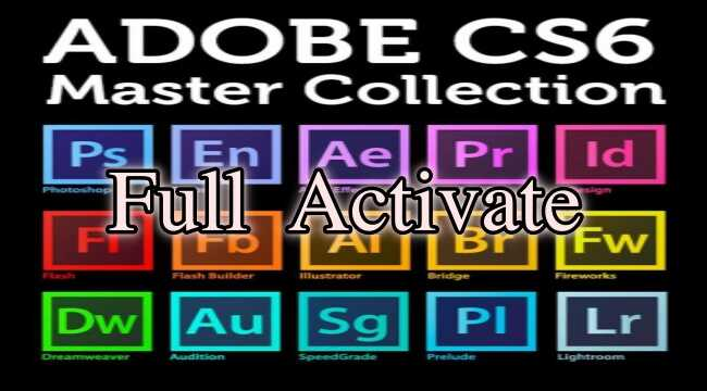 Master collection Adobe CS6 Mac-Bộ công cụ thiết kế của hãng