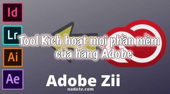 Tool kích hoạt trọn bộ Adobe CC Bản Full Cho Mac