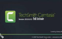 Camtasia Studio 2021 Full ver20.0.13 trình làm video