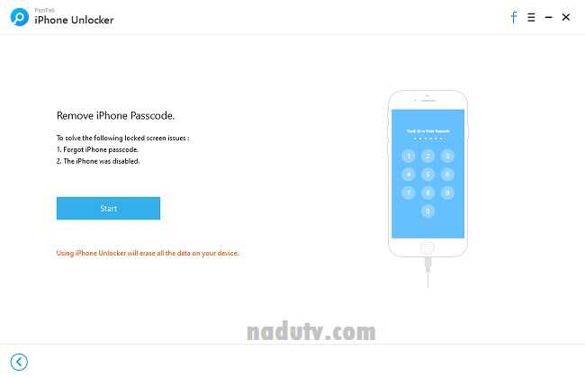 Mở khóa màn hình iPhone