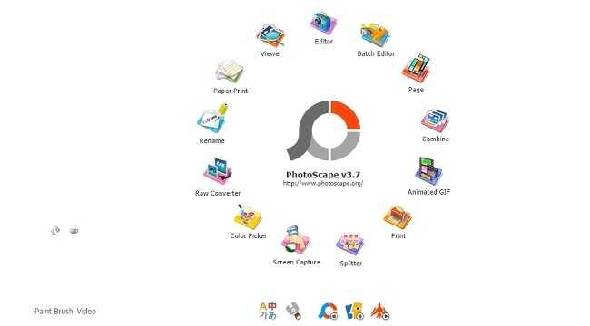 Phần mềm chỉnh sửa ảnh PhotoScape miễn phí
