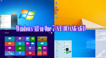 Windows All in One 7/8.1/10 (x86/x64) trong một tệp iso