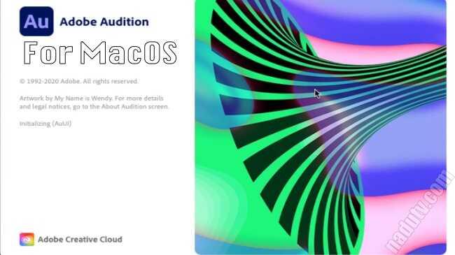 Phần mềm xử lý âm thanh Audition 2020 cho MacOS full