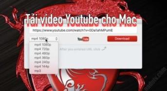Tải video trên YouTube cho Mac bằng phần mềm Airy Pro