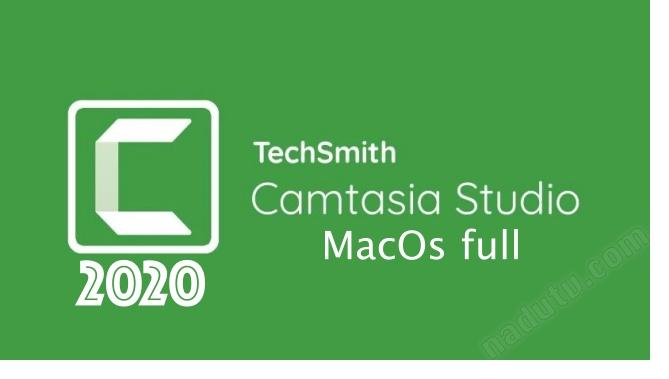 Camtasia Studio 2020 cho MacOs Full ver 20.0.18