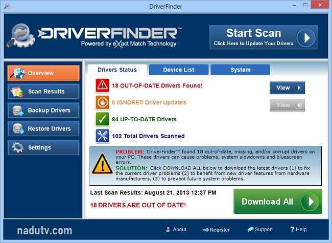 Tổng hợp phần mềm cài driver