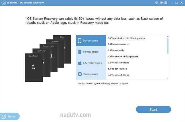 Khôi phục dữ liệu iPhone/iPad