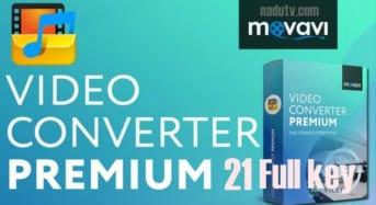Phần mềm chuyển đổi video Movavi Video Converter Pro