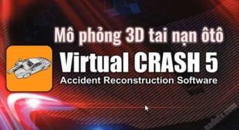Mô phỏng 3D tai nạn ôtô bằng Virtual Crash full (x64)