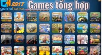 Tổng các Games trong một file iso GameHouse Full