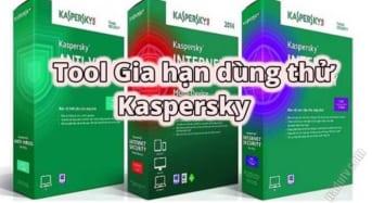 Reset thời gian dùng thử Kaspersky với KTA
