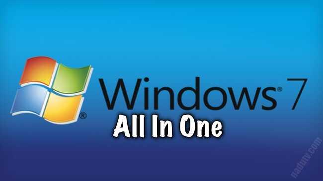 Windows 7 SP1 All in One tháng 12 năm 2020 (x86/x64)
