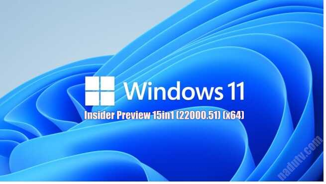 Windows 11 Insider Preview 15in1 (22000.51) (x64)