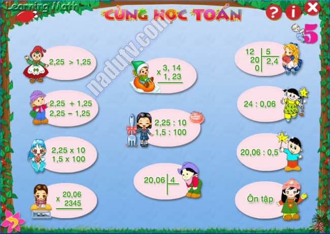 Học toán với Learning Math