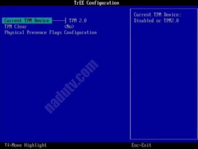 Kiểm tra PC có TPM 2.0