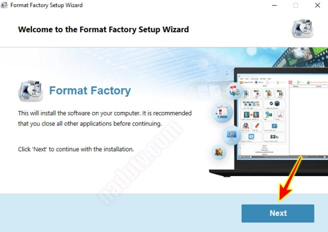 Chuyển đổi video và âm thanh bằng phần mềm Format Factory