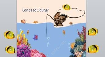 Trò chơi PowerPoint cho học sinh khối Tiểu học
