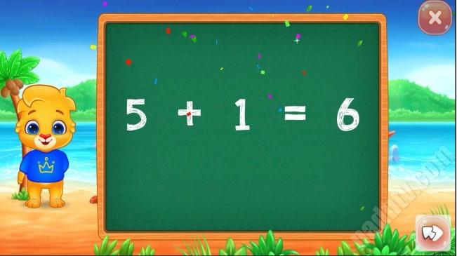 Học đếm số cộng trừ cho bé bằng phần mềm Math Kids