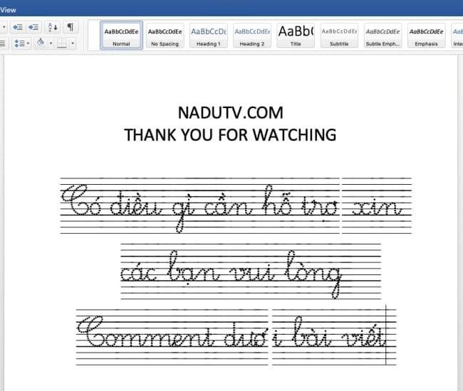 Cách thêm font chữ cho Macbook