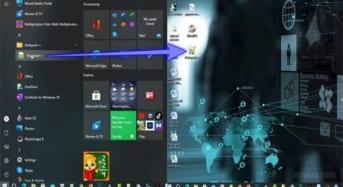Cách đưa phần mềm ra ngoài màn hình Desktop trên Windows 10