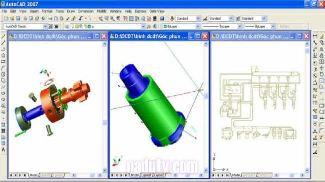 Giáo trình tự học Autocad 2007 từ cơ bản đến nâng cao
